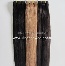 100% colorful machine made synthetic hair weft