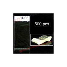 12.5x7 cm 500pcs/lot PE PVC Waterproof Bag for iPhone iPod Nokia /for Sony Cases(Transparent)