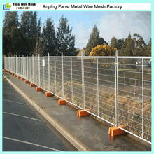 HDPE plastic blow welded panels housing sites mobile fence