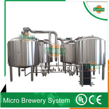 beer equipment with CE,UL certificates,steam heating way