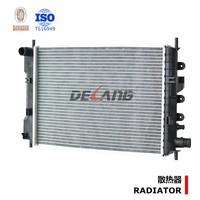 Aluminum auto engine radiator pa66 gf30 for FORD ESCORT1.6 G ORION OE No# 92AB8005DD (DL-B138)