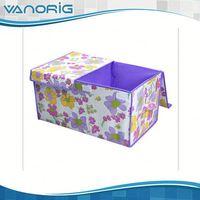 2015 Multifunction Non Woven Foldable clear acrylic tea bag storage box
