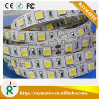 Good price DC12V/24V 14.4W Natural White led strip 5050 / smd 5050 led strip light 60leds/meter