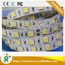 Good price DC12V/24V 14.4W Natural White led strip 5050 / smd 5050 led strip light 60leds/meter