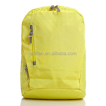 2015 Beautiful Girl Backpack Yellow Back Pack for Girls Colorful Satchel SJ150