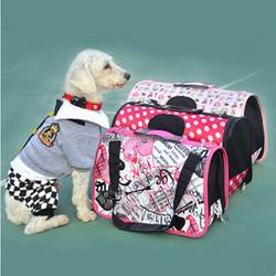 2015 HOT!!! Pet Luggage Carrier Dog Bag Cat Bag Handbag Brand Desinger Travel Bag Pet Products Size S M L