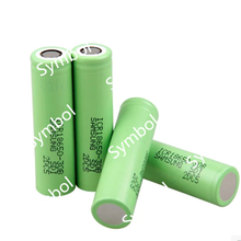 New samsung 18650 battery 3000mah 3.7v 18650 30B battery with flat top green color