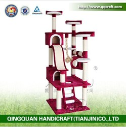 wholesale aimigu outdoor cat furniture beds and scratcher for big cat