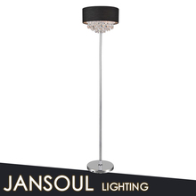 chinese zhongshan lighting factory cheap modern crystal floor lamp for living room