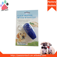 Cheaper Price and High Quality Colorful Dog Whistle & Clicker for Pet Training from China