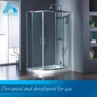 High-End Handmade Preferential Price Fancy Design Portable Shower Door Bath Items
