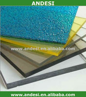 high transparent clear patio roofing materials