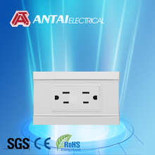 2013 Alibaba electrical material wall outlet,twin wall socket