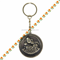 keychain minions keyring very keyring bronze with text monkey