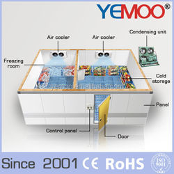 YEMOO hot sale solar power batch freezer in india with high performance compressor