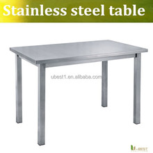 U-best stainless steel kitchen table working table