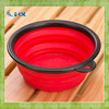 Hot Selling Custom silicone collapsible Dog Travel Bowl factory in shenzhen