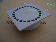 50 20*20 plastic bathroom floor drains floor cover floor filter plastic shower drains from factory