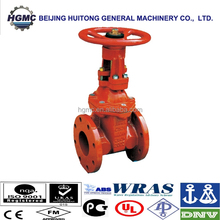 IRON BODY FIRE PROTECTING Gate Valves With fire fighting
