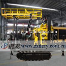 Durável gv aprovados chassis de lagartas de perfuração geotécnicos plataformas 200m de profundidade xy-200c