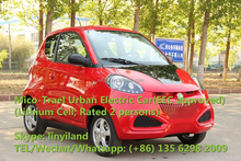 EV80ZD Linyi-made EEC approved Micro-travel Urban Electric car (rated 2 person)