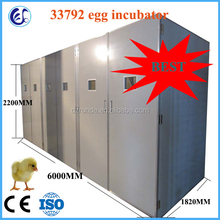 98% hatching rate industrial chicken egg incubator