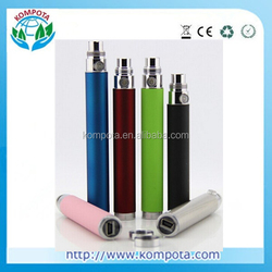 eGo Passthrough USB Battery,Stable Quality 1100mah eGo Passthrough Battery for Electronic Cigarette Accept PayPal