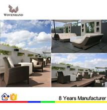 Rattan garden sofa furniture patio sofa set