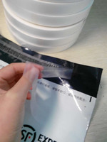 high quality transparent HDPE silicone film for protecting spray adhesive