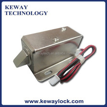 0.65A Fail Secure Cabinet Push Lock, 12V File Cabinet Lock, Electric Cabinet Lock for Mail Box