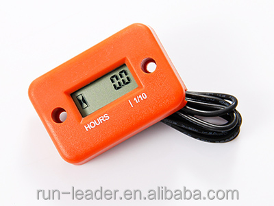 Digital LCD Induction Hour Meter Counter For Motorcycle ATV Snowmobile Lawn Mower Mini Bike Gasoline Engine 2/4 Stroke
