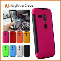Full protected for moto g case mobile telephone shell