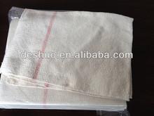 colorful and soft of recycled cotton white floor cleaning rags