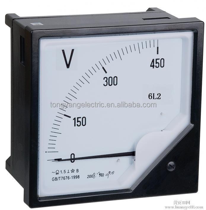 12 Volt Dc Amp Meter Analog : Analog panel meters ac voltmeter voltage meter