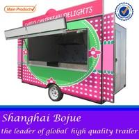 FV-55 food truck electric selling mobile food cart mobile street food van