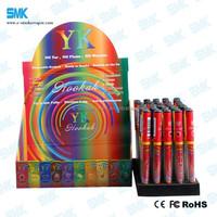 High Quality 500 Puffs Disposable Electronic Cigarette Eshisha eGo colorful e shisha 5 pack