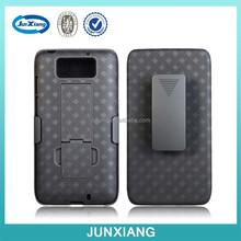 Custom cell phone case belt holster combo for motorola xt1080