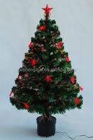2015 New Arrived Festival Decoration small Fiber Optic Christmas Tree