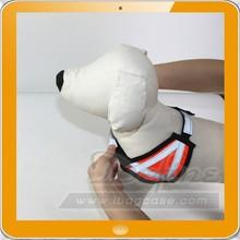 Shining Dog Harness Pet Collar Adjustable Nylon Reflective Stripe Puppy Clothing