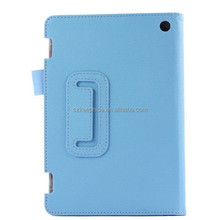 2015 Hot leather tablet protective cover case for Amazon kindle fire hd7