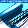 UV Protection 2mil privacy static cling window film for car/building glass window