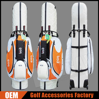 Custom Logo Golf Travel Cover Bags / ABS Hard Case Golf Bags 2015 Hot Sale Golf Product