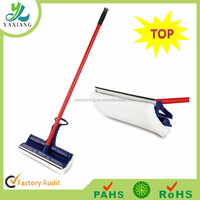 Long handle Window cleaning mop & squeegee , window glass cleaner 2 in 1