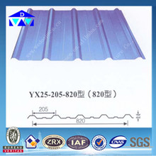High quality Zinc coated curved steel roofing sheets/Galvanized corrugated steel roofing