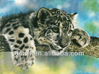 acrylic face oil painting animal designs