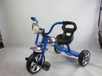 2015 NEW AND SIMPLE SILIVER BABY TRICYCLE WITH LUXURY LIGHT AND WHEELS AND BIG SEAT