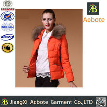 2015 Hot Sell Customized Outdoor Woman Goose Down Jacket,Down Clothing