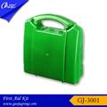 Venta al por mayor gj-3001 mejor profesional de la venta de material de pvc caja de primeros auxilios