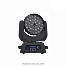 LED Moving head stage lights washer effect RGBW beam lighting
