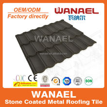 Fiberglass Roof Tile Wholesale Lowes Sheet Metal Roof Tile China Supplier Famous Brand WANAEL Roofing
